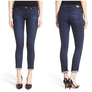 Paige • Dark Wash Skyline Crop Jeans